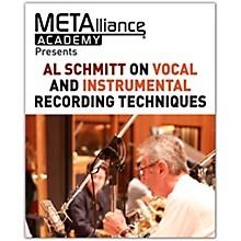 Hal Leonard Al Schmitt on Vocal and Instrumental Recording Techniques - METAlliance Academy