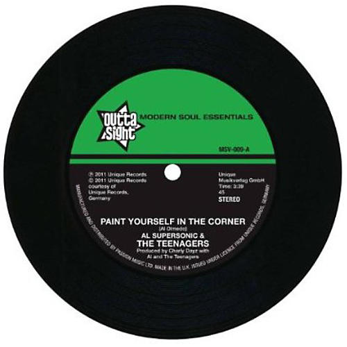 Alliance Al Supersonic & the Teenagers - Paint Yourself in a Corner/It Must Be Love