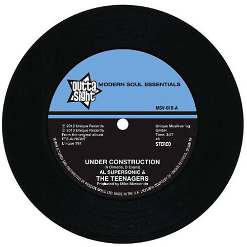 Alliance Al Supersonic & the Teenagers - Under Construction/The Loser