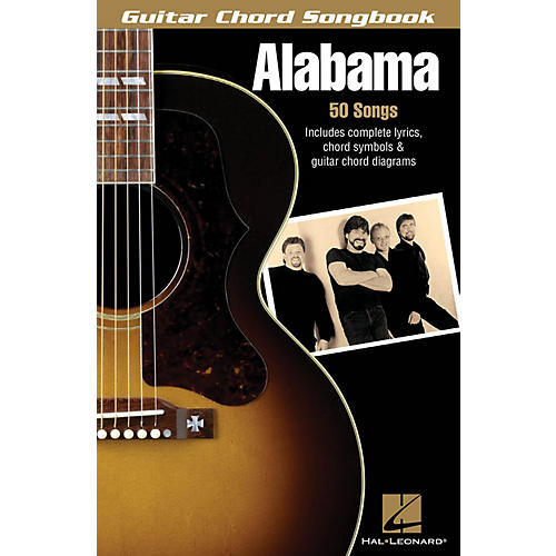 Hal Leonard Alabama Guitar Chord Songbook Series Softcover Performed by Alabama