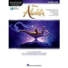 Hal Leonard Aladdin Instrumental Play-Along Series for Violin Book/Audio Online