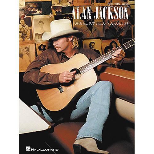 Hal Leonard Alan Jackson - Greatest Hits Volume II Piano, Vocal, Guitar Songbook