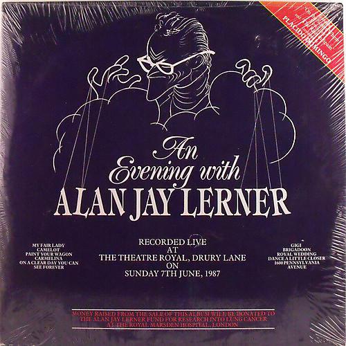 Alliance Alan Jay Lerner - An Evening With...(my Fair Lady, Camleot, Gigi)