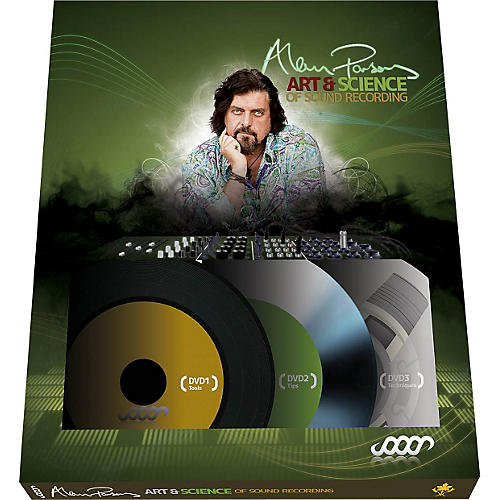 Hal Leonard Alan Parsons Presents The Art And Science Of Sound Recording DVD Set (3 Disc Set)