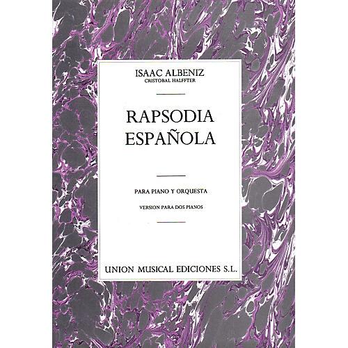 Music Sales Albeniz Rapsodia Espanola (halffter) 2 Pf Music Sales America Series