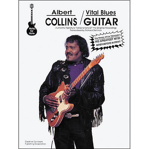 Creative Concepts Albert Collins - Vital Blues Guitar Book