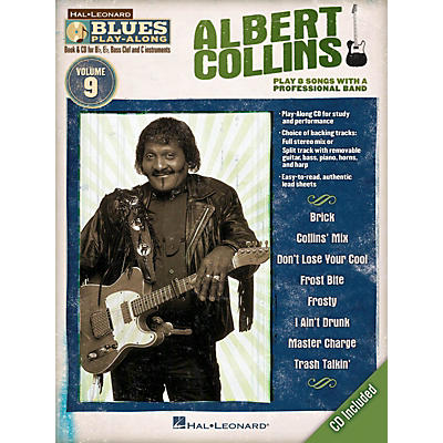 Hal Leonard Albert Collins (Blues Play-Along Volume 9) Blues Play-Along Series Softcover with CD by Albert Collins