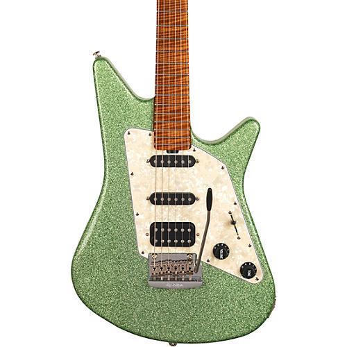 Ernie Ball Music Man Albert Lee HSS BFR Electric Guitar Seafoam Sparkle