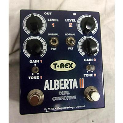 T-Rex Engineering Alberta II Dual Overdrive Effect Pedal