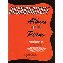 G. Schirmer Album for The Piano By Rachmaninoff