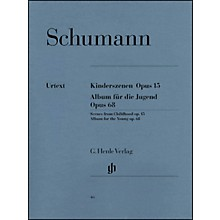 G. Henle Verlag Album for The Young Op. 68 And Scenes From Childhood Op. 15 By Schumann
