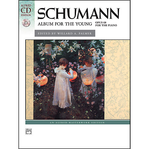 Alfred Album for the Young Op. 68 Book & 2 CDs