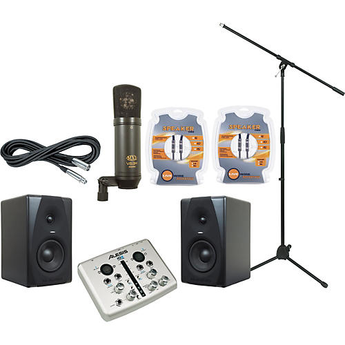 M-Audio Alesis i02 Express and M-Audio CX5 Recording Package