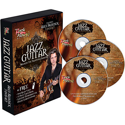 Rock House Alex Skolnick Jazz Guitar: Breaking the Traditional Barriers 3-DVD Set
