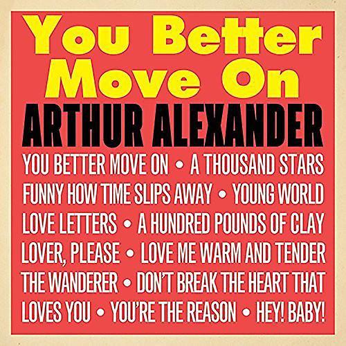 Alliance Alexander Arthur - You Better Move on