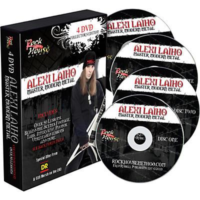 Hal Leonard Alexi Laiho - Master Modern Metal 4 DVD Collector's Edition