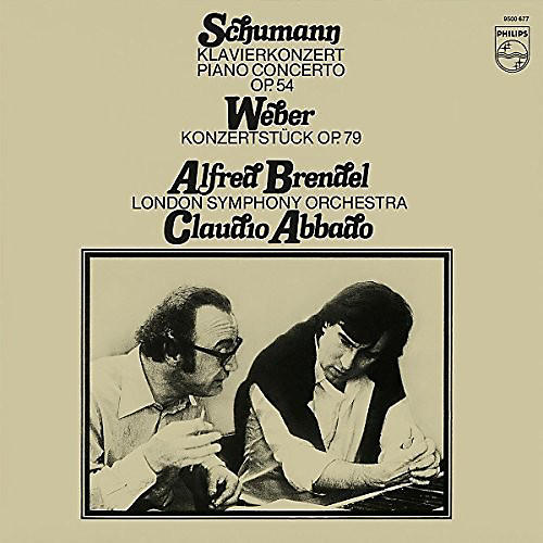 Alliance Alfred Brendel - Schumann Piano Concerto in a Minor / Weber: Konzer