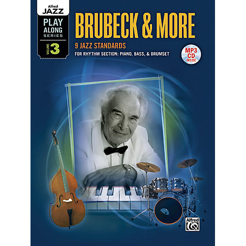 Alfred Alfred Jazz Play-Along Series, Vol. 3: Brubeck & More Flexible Instrumentation Book & CD