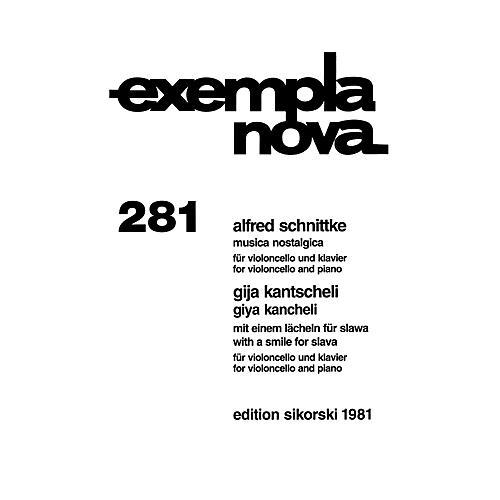 Sikorski Alfred Schnittke - Musica Nostalgica and Giya Kancheli - With a Smile for Slava String