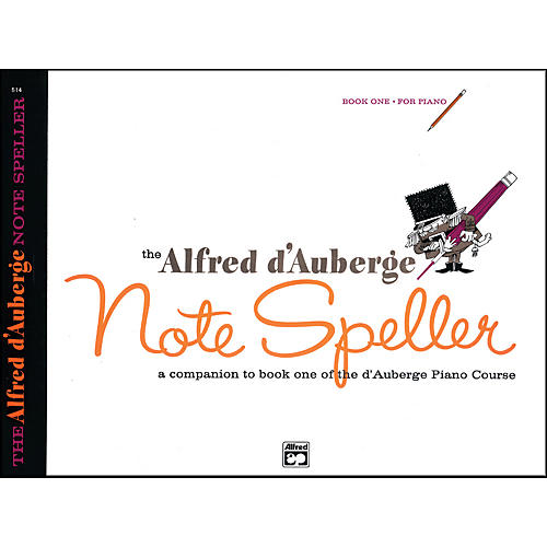 Alfred Alfred d'Auberge Piano Course Note Speller Book 1