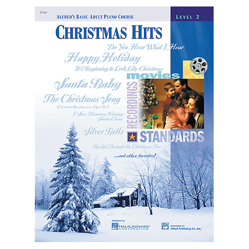 Alfred Alfred's Basic Adult Piano Course Christmas Hits Book 2
