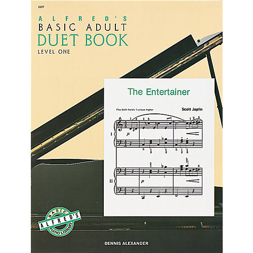 Alfred Alfred's Basic Adult Piano Course Duet Book 1 Book 1