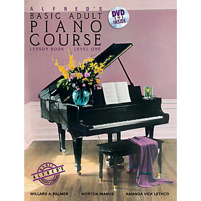 Alfred Alfred's Basic Adult Piano Course Lesson Book 1 & DVD