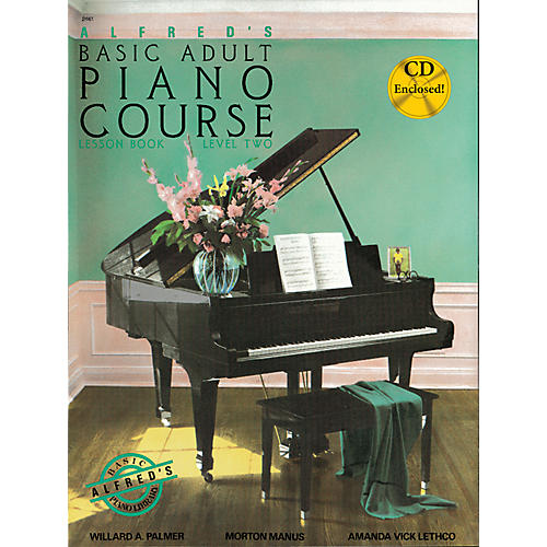 Alfred Alfred's Basic Adult Piano Course Lesson Book 2 Book 2 & CD