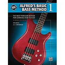 Alfred Alfred's Basic Bass Method Book 1