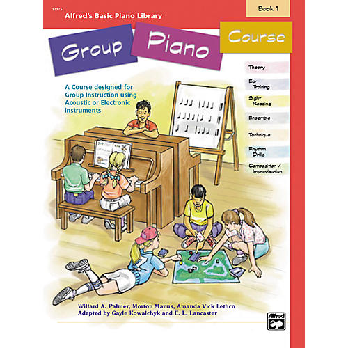 Alfred Alfred's Basic Group Piano Course Book 1