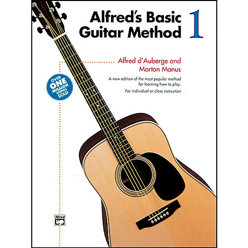 Alfred Alfred's Basic Guitar Method Book 1