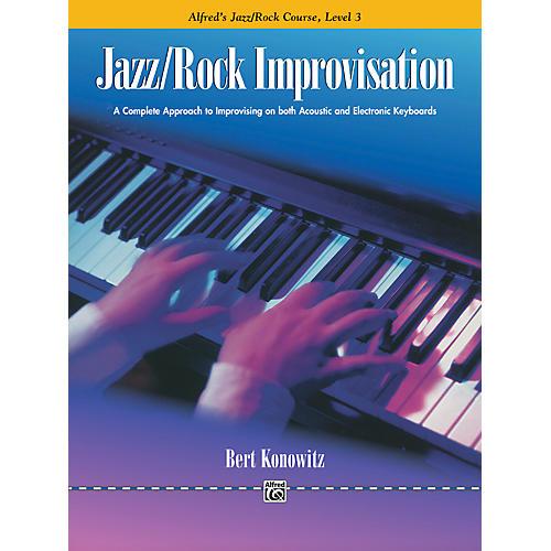 Alfred Alfred's Basic Jazz/Rock Course Improvisation Level 3