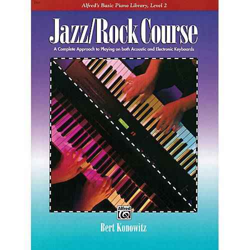 Alfred Alfred's Basic Jazz/Rock Course Lesson Book Level 2