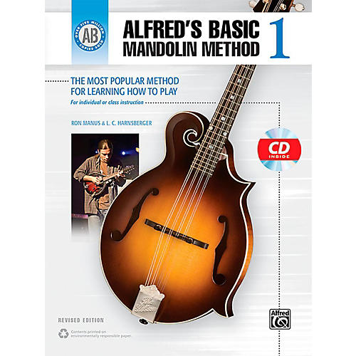 Alfred Alfred's Basic Mandolin Method 1 (Revised) Book & CD