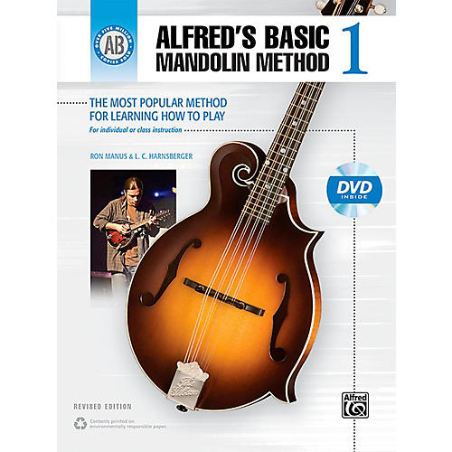 Alfred Alfred's Basic Mandolin Method 1 (Revised) Book & DVD