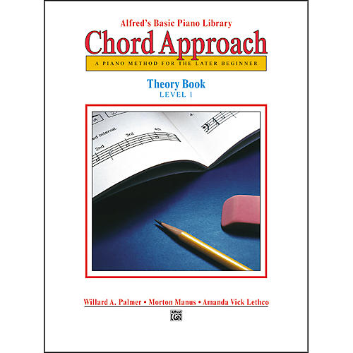 Alfred Alfred's Basic Piano Chord Approach Theory Book 1
