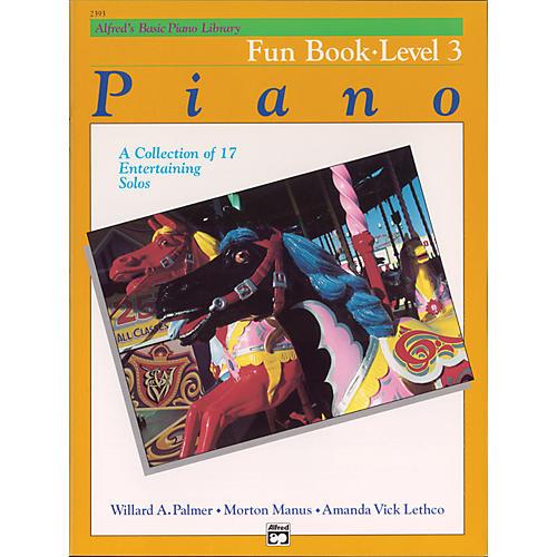 Alfred Alfred's Basic Piano Course Fun Book 3