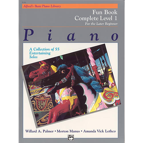 Alfred Alfred's Basic Piano Course Fun Book Complete 1 (1A/1B)