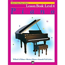 Alfred Alfred's Basic Piano Course Lesson Book 4