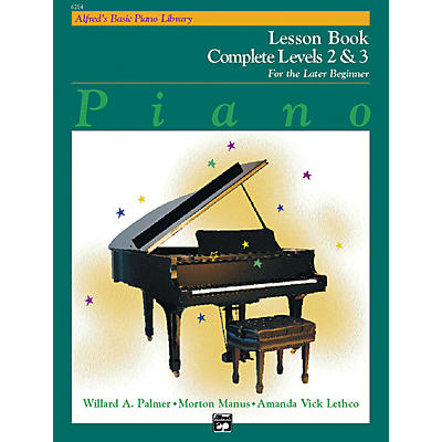 Alfred Alfred's Basic Piano Course Lesson Book Complete 2 & 3