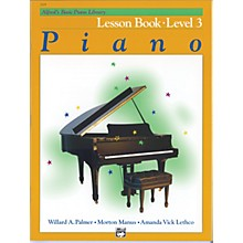 Alfred Alfred's Basic Piano Course Lesson Book Level 3