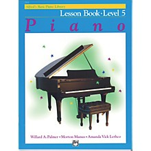 Alfred Alfred's Basic Piano Course Lesson Book Level 5