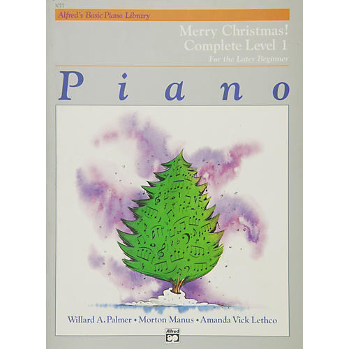Alfred Alfred's Basic Piano Course Merry Christmas! Complete Book 1 (1A/1B)
