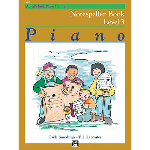 Alfred Alfred's Basic Piano Course Notespeller Book 3