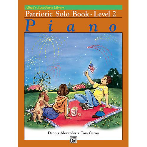 Alfred Alfred's Basic Piano Course Patriotic Solo Book 2