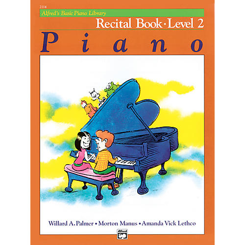 Alfred Alfred's Basic Piano Course Recital Book 2