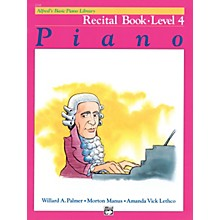 Alfred Alfred's Basic Piano Course Recital Book 4