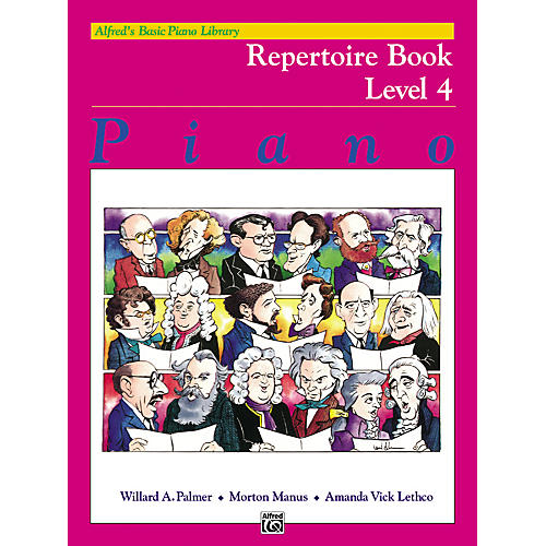 Alfred Alfred's Basic Piano Course Repertoire Book 4