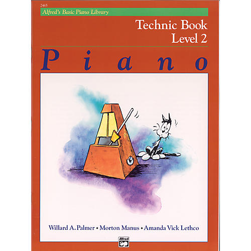 Alfred Alfred's Basic Piano Course Technic Book 2
