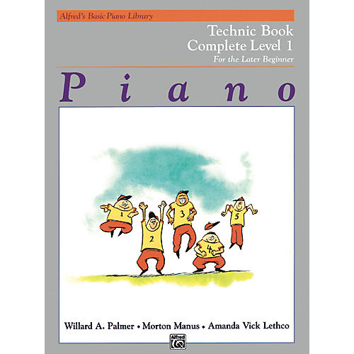 Alfred Alfred's Basic Piano Course Technique Book Complete 1 (1A/1B)